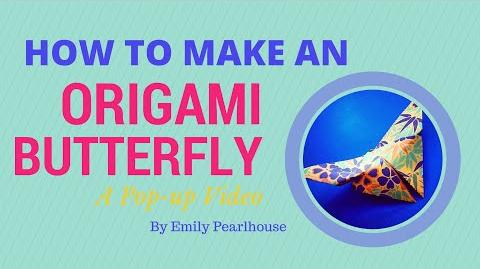 How to Make an Origami Butterfly - Pop Up Video