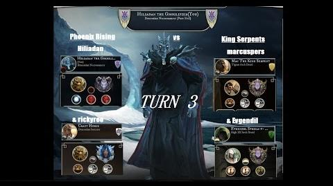 AoW3 2016 PBEM 2vs2 Tournament - Round 2 - Phoenix Rising vs King Serpents - turn 3 (commented)