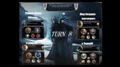 AoW3 2016 PBEM 2vs2 Tournament - Round 2 - Phoenix Rising vs King Serpents - turn 8 (commented)