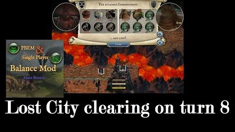 Hiliadan/How to clear a Lost City before turn 10?