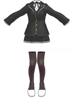 High schoolers uniform