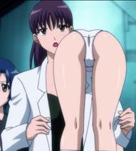 Ritsuko carrying Rin