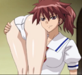 Reiko carrying Yui