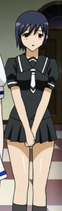 Black haired recruit