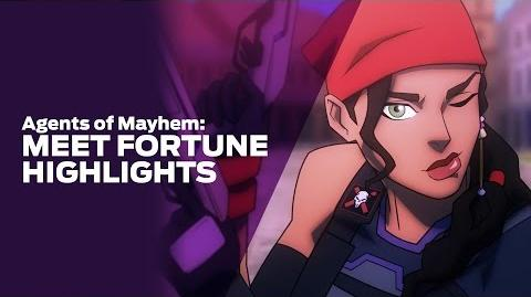 Agents of Mayhem Meet Agent Fortune Highlights