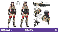 Character sheet - Daisy