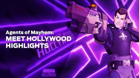 Agents of Mayhem Meet Hollywood Highlights