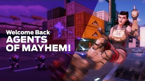 Volition stream - Welcome Back, Agents of Mayhem!