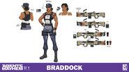 Character sheet - Braddock