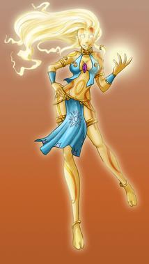 The light of a goddess by miha mimiko kyattuha-d3axzao