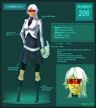 Agent 206 collette by violetrose17-d3idu33