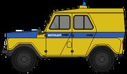 УАЗ-469АП (Россия) Милиция