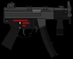 H&K MP5KA4 (ФРГ)