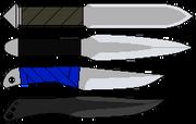 Throwing knives by dalttt-d3eok50