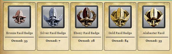Raid Badges