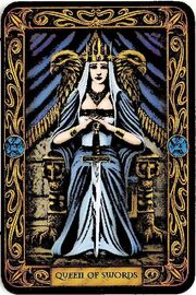 Queen-Of-Swords-Tarot-Card