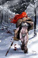 Red Sonja by anjum