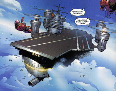 House of M Vol 1 6 page 3 Helicarrier