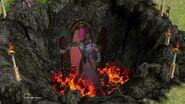 Kronos escaping Tartarus