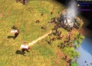 Lazer Bear attack