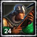 Spanish Home City 1 (24 Crossbowmen)