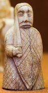 Beserker, Lewis Chessmen, British Museum