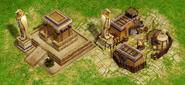 Statues Ra