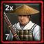 Japanese Home City 2 (7 Ashigaru Musketeers)