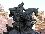 794px-Standbeeld Saladin Damascus