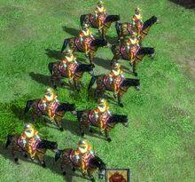 中國人 - 單位14.滿州弓騎兵