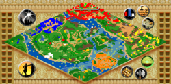 The Royal Peacock map