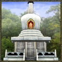 White pagoda choice