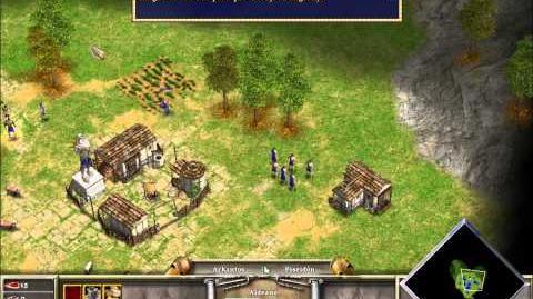 Age of Mythology; campaña 1, misión 2-0