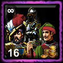 French Home City 5 (Hire Holy Roman Army)