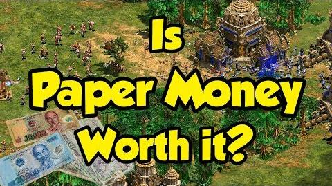 Is Paper Money Worth It? AoE2