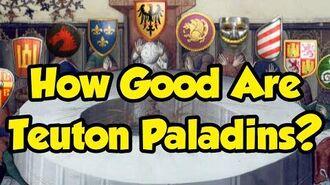 How Good Are Teuton Paladins? AoE2