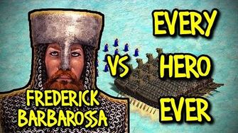 FREDERICK BARBAROSSA vs EVERY HERO EVER AoE II Definitive Edition-0