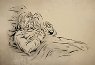 Genghis on his Death Bed