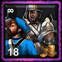 Spanish Home City 5 (Highland Mercenary Army)