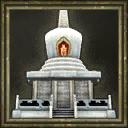 White pagoda icon