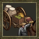 Cherry rickshaw icon