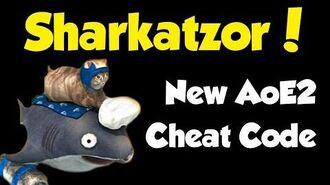 Sharkatzor - the new AoE2 cheat code