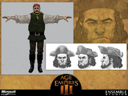 Pirate Concept Art