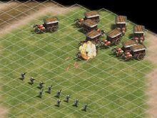 10 Photonmen versus 10 Elite War Wagons