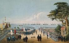 Визит Перри в 1854 году