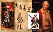 Redcoat art