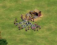 Villagerscluttering
