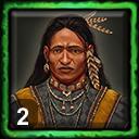 Iroquois Home City 1 (2 Medicine Men)