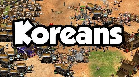 Koreans Overview AoE2