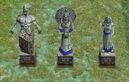 Atlantean Statues